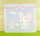 【震撼精品百貨】Hello Kitty 凱蒂貓~雙面卡片-紫中秋