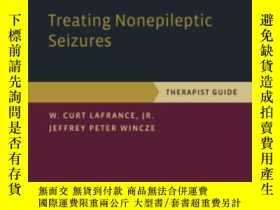 二手書博民逛書店Treating罕見Nonepileptic Seizures: Therapist Guide (treatme