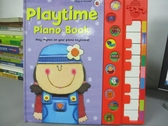【書寶二手書T5/少年童書_ZFA】Playtime Piano Book_Kate Merritt