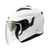 ZEUS瑞獅安全帽,ZS-613B,素色/白