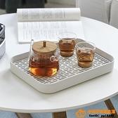 杯子托盤杯架瀝水架茶杯茶具裝玻璃杯收納盒置物架晾杯架超級品牌【桃子居家】