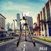 單反相機三角架釣魚燈架手機自拍直播視頻三腳架LB1302【彩虹之家】