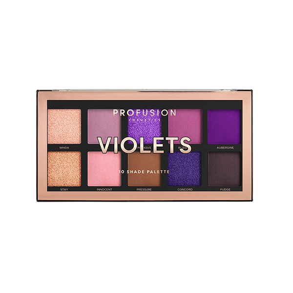 PROFUSION 10色眼影盤-紫羅蘭 16g