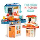 (限宅配)聲光洗碗烤箱煮菜廚房 玩具 家家酒玩具 煮菜遊戲
