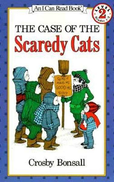 (二手書)An I Can Read Book Level 2: Case of the Scaredy Cats