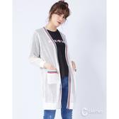 CANTWO網布緹花修身針織外套-二色~春夏新品單一特價