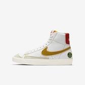 Nike Blazer Mid 77 (gs) [DD9528-100] 大童鞋 運動 休閒 貼合 舒適 穿搭 白 金