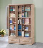 【新北大】T242-1 莎曼莎原橡色4尺活動書櫃-2019購
