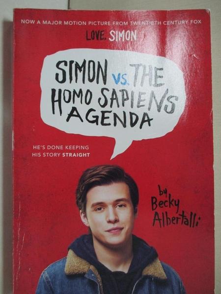 【書寶二手書T1/原文小說_BLZ】Simon vs. the Homo Sapiens Agenda_Albertalli, Becky