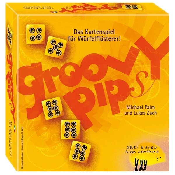 【樂桌遊】快艇骰 Groovy Pips(英文版)