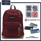 【JANSPORT】RIGHT PACK系列後背包 -聖誕紅(JS-43969)