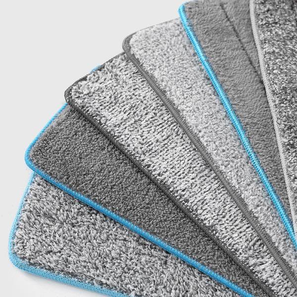 家用刮刮樂粘貼式免手洗拖把替換布拖布頭懶人平板拖布不臟手墩布