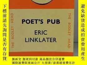 二手書博民逛書店埃裏克·林克萊特罕見Poet s Pub by Eric Linklater (Penguin Books Com