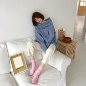 【GZ22】襪子 女中筒襪長襪女潮街頭 堆堆襪子多色任選