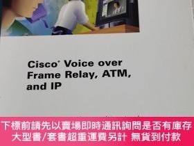 二手書博民逛書店Cisco罕見Voice over Frame Relay ATM and IPY7987 Steve McQ