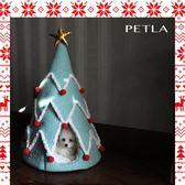 派拉圣誕樹小型犬貓咪寵物窩 貓窩創意狗窩狗房子歐亞時尚