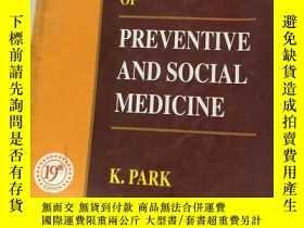 二手書博民逛書店Park s罕見Textbook of Preventive a