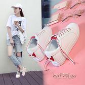 女鞋街拍百搭小白鞋女學生港風板鞋韓版休閒帆布鞋子