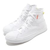 Converse 休閒鞋 Chuck Taylor All Star Hi Renew 白 灰 男鞋 女鞋 帆布鞋 運動鞋 【ACS】 168594C