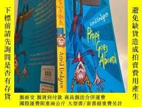 二手書博民逛書店pippi罕見goes aboard 皮皮上船了Y200392