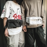 潮男時尚休閒胸前包韓版情侶挎包戶外運動騎行挎包【千尋之旅】
