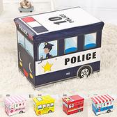 (限宅配)卡通汽車折疊儲物收納箱 車廂款