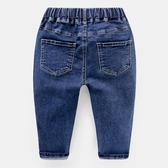 兒童長褲男童牛仔褲長褲子秋裝春秋秋款童裝1歲小童3兒童寶寶嬰幼兒潮洋促銷好物