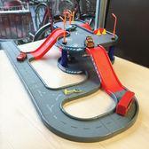 汽車模型大樓停車場軌道玩具情景拼插玩具男女寶寶禮物套裝帶提手 晴天時尚館