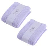 (組)土耳其純棉毛巾紫40x80cm x2