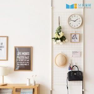 【MH家居】網架 多功能網架 頂天立地網架 韓國頂天立地架M白色