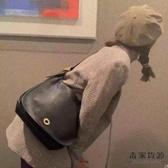 包包女潮百搭復古時尚單肩側背斜背中古包大容量簡約【毒家貨源】