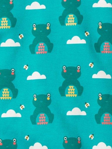 【英國 Little Green radicals】有機棉套裝2件組 - 呱呱好朋友S18081