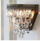 超實惠 北歐式美式鄉村奢華水晶壁燈 現代簡約宜家餐廳燈過道床頭燈