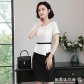 女神職業套裝  上班族職場流行女裝新款時尚洋裝夏韓版通勤氣質白領職業裙 『歐韓流行館』