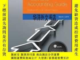 二手書博民逛書店【罕見】Audit and Accounting Guide: State and Local Governmen