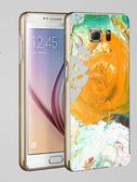 ♥ 俏魔女美人館 ♥Samsung Galaxy S7/s7 Edge {金屬邊框*彩色油畫 } 手機殼 手機套 保護殼