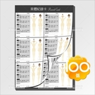 {睫老闆}熱蠟美體紀錄表/雙面款(FB1)-100張[58190]