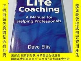 二手書博民逛書店英文原版:Life罕見Coaching: A Manual fo