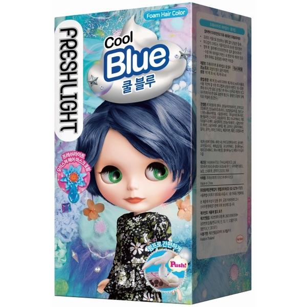 富麗絲泡泡染系列 靜謐海洋藍