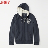 AF Abercrombie & Fitch A&F A & F 男 外套帽T J697