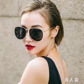 新款近視墨鏡女韓版潮復古太陽鏡防紫外線長臉方臉眼鏡潮 zm4529『男人範』