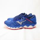 Mizuno WAVE HORI1ON 4 慢跑鞋 J1GD202657 女款 藍【iSport 愛運動】
