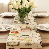 時尚可愛空間餐桌布 茶几布 隔熱墊 鍋墊 杯墊 餐桌巾桌旗259 (35*160cm)