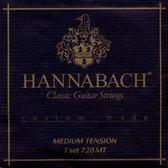 【古典吉他弦】【HANNABACH 728MT】【中張力古典吉他弦】