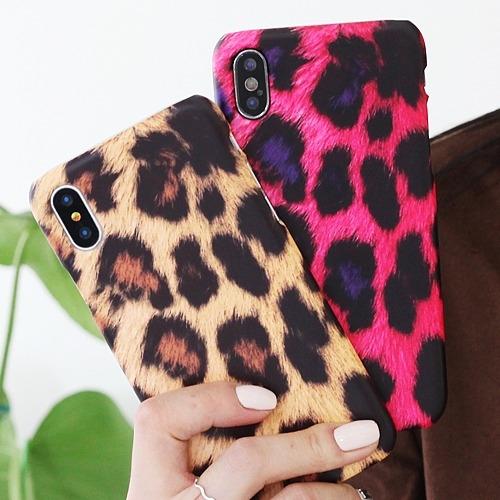 韓國 仿豹紋 硬殼 手機殼│iPhone 6 6S 7 8 Plus X XS MAX XR 11 Pro LG G7 G8 V40 V50│z8791