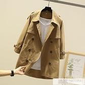 風衣女2020新款中長款小個子開春大衣初秋外套氣質流行英倫風韓版 夏季新品