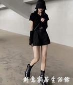 馬丁靴女春秋季新款百搭英倫風短靴平底帥氣高幫網紅瘦瘦單靴 創意家居生活館