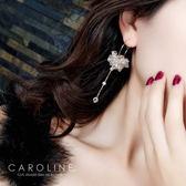 《Caroline》★韓國官網熱賣長款甜美浪漫風格時尚流行耳環69977