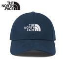 【The North Face 66 CLASSIC HAT 經典款棒球帽《深藍》】4VT4/水洗棉透氣運動帽/鴨舌帽/遮陽帽