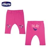 chicco-To Be BG-印花朵愛心內搭長褲